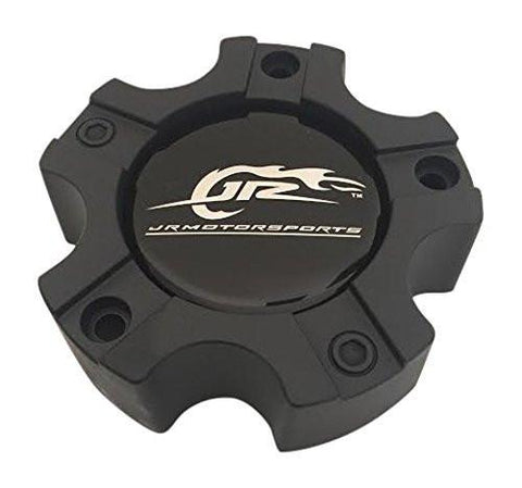 American Racing JR Motorsports CAP M-560 Black Wheel Center Cap 5x115/4.5 - The Center Cap Store