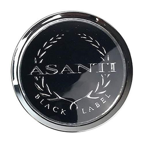 Asanti Black Label 742C01 Chrome Snap in Center Cap - The Center Cap Store