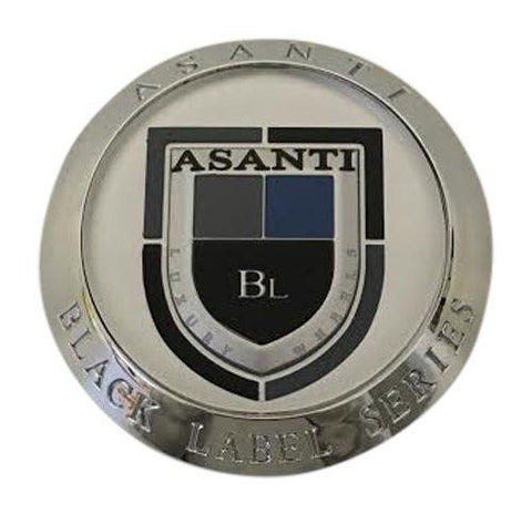 Asanti Black Label Series Wheels CT-36N Chrome Wheel Center Cap - The Center Cap Store