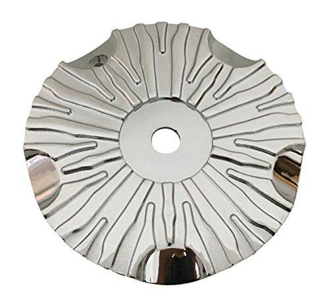 Asanti Wheels ASANTI-2 Chrome Wheel Center Cap No Logo - The Center Cap Store