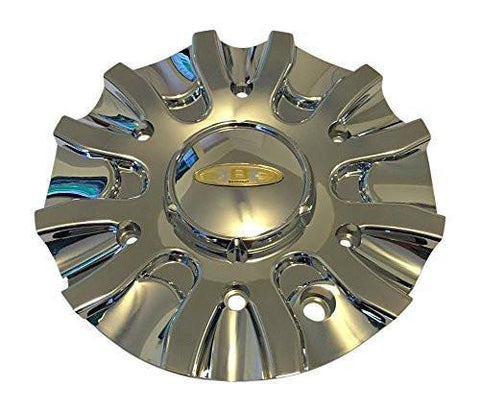 Baccarat Outrage 2160 C21602C MCD8244YA03 SJ107-10 Chrome Wheel Center Cap - The Center Cap Store