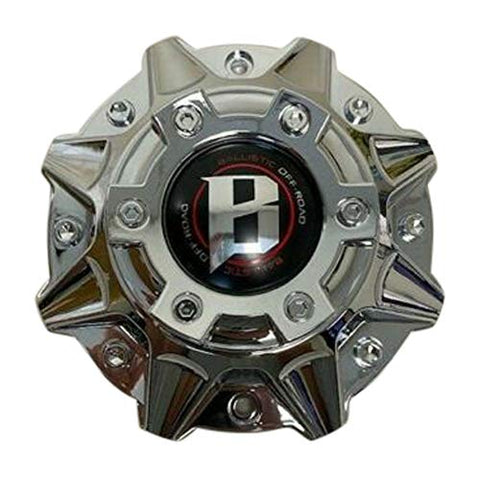 Ballistic 845 Morax LG1208-33 SGD0010 Chrome Wheel Center Cap - The Center Cap Store