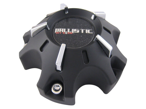 Ballistic Offroad 901 or 902 Wheels WX-07-CAP Black Wheel Center Cap Fits 5x114.3 or 5x127 - The Center Cap Store