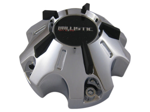 Ballistic Offroad Wheels 901 or 902 WX-08-CAP Chrome Center Cap Fits 5x135 or 5x139.7 - The Center Cap Store