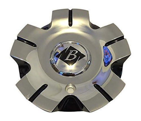 Black Ice C-VB5-C SJ907-12 Chrome and Black Center Cap - The Center Cap Store