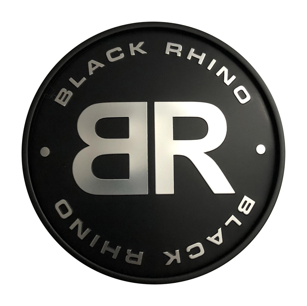 Black Rhino Wheels C-368-1 Black and Chrome Center Cap - The Center Cap Store