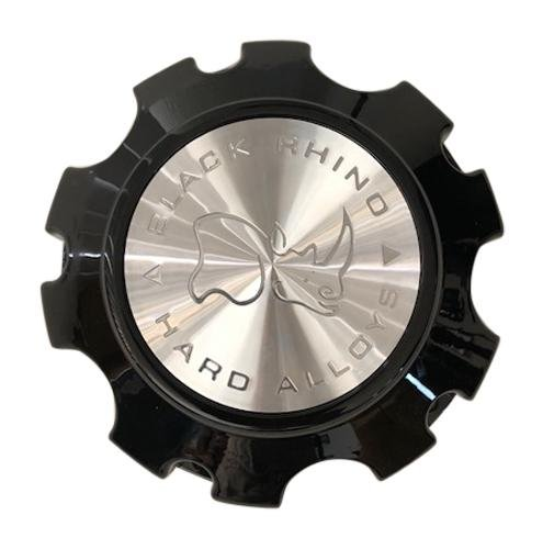 Black Rhino Wheels PC5050-N Gloss Black Center Cap CCBR5150GB 5x150 - The Center Cap Store