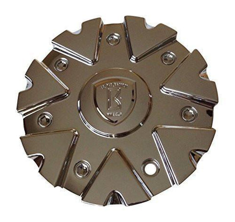 Borghini B14 CS419-D2P Chrome Wheel Center Cap - The Center Cap Store