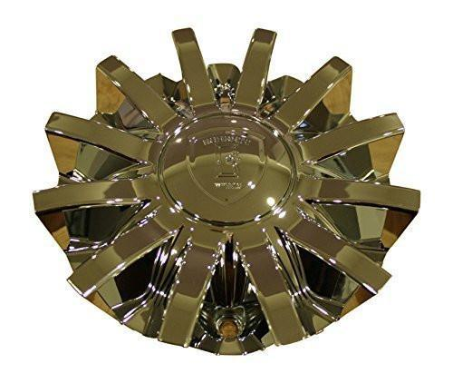 Borghini Wheels Chrome Wheel Rim Center Cap CS420-E6P - The Center Cap Store