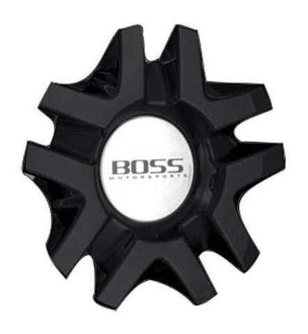 Boss 3206 3206-02 Black Wheel Center Cap - The Center Cap Store