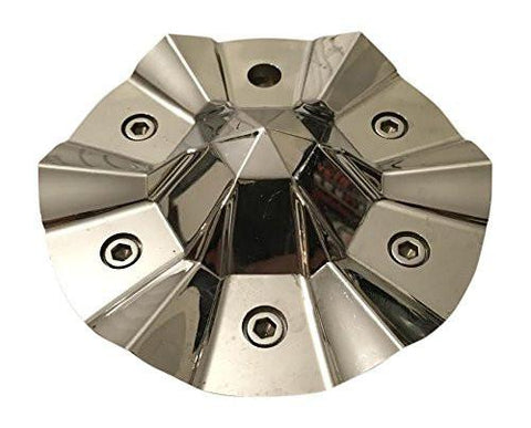 Cabo Wheels N301A Chrome Wheel Center Cap - The Center Cap Store