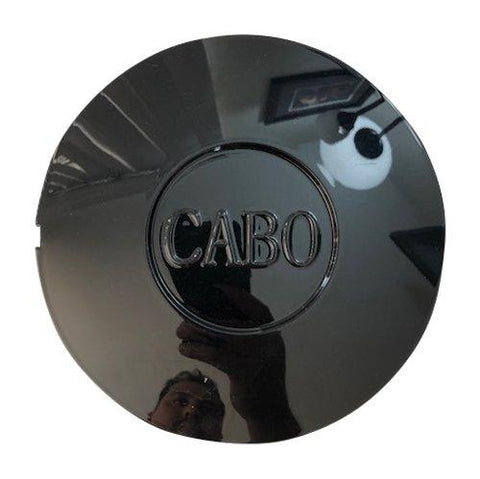 Cabo Wheels T732-CAP USED Gloss Black Center Cap - The Center Cap Store