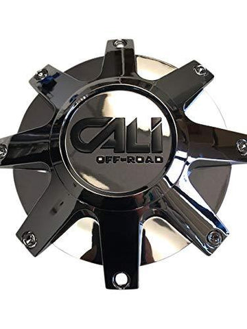 CALI OFFROAD C109104C 9104 Dirty Wheel Chrome Center Cap - The Center Cap Store