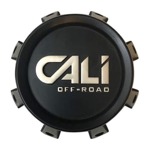 CALI Offroad C109105B01-CALI-R 814820825F-12 Matte Black Center Cap - The Center Cap Store