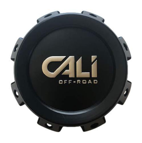 Cali Offroad Wheels 9105 Brutal C109105B02-CALI-F 814720825F-11 Matte Black Center Cap - The Center Cap Store