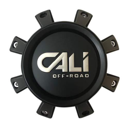 Cali Offroad Wheels C109105B01-CALI-F 814720825F-12 Matte Black Center Cap - The Center Cap Store