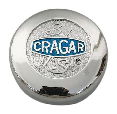 Cragar Wheels C10230 F107-25 Chrome Wheel Center Cap - The Center Cap Store