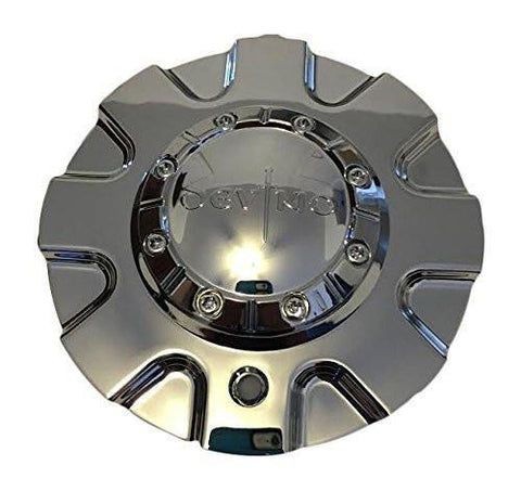 Devino 631 Wheels CAPF-281 Chrome Wheel Center Cap - The Center Cap Store