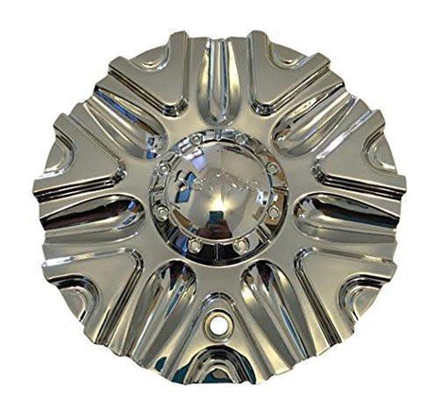 Devino Sire DV0700-TRUCK-CAP SGD0010 Chrome Wheel Center Cap - The Center Cap Store