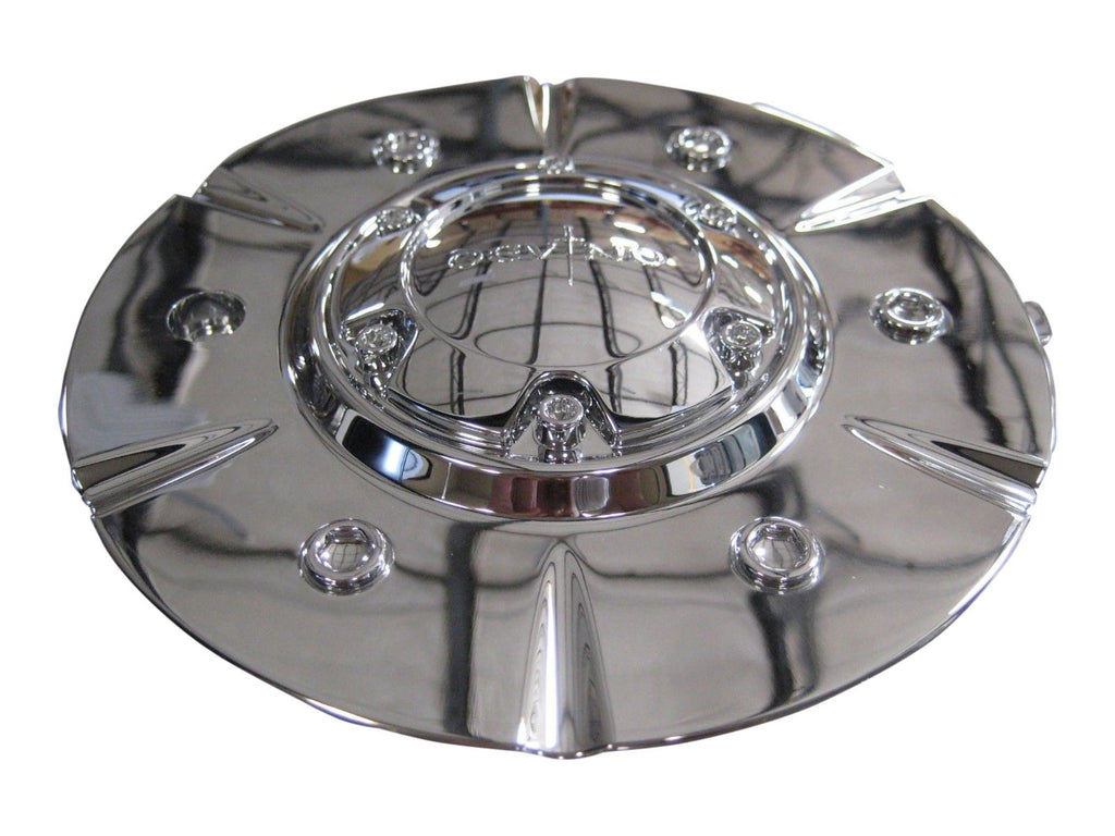 Devino Wheels 524 Score EMR524-SUV-CAP EMR524-TRUCK-CAP Chrome Center Cap - The Center Cap Store