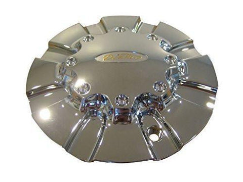 Diamo 23 Karat Tall Chrome Wheel Rim Center Cap DIAMO-23 8H-170 - The Center Cap Store