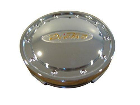 Diamo 25 Chrome Wheel Rim Snap In Center Cap 541K74 D-25 LG0708-02 - The Center Cap Store