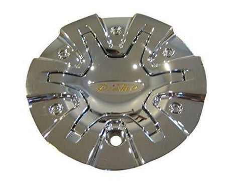 Diamo 27 Karat Chrome Wheel Rim Center Cap DIAMO-27PAS - The Center Cap Store