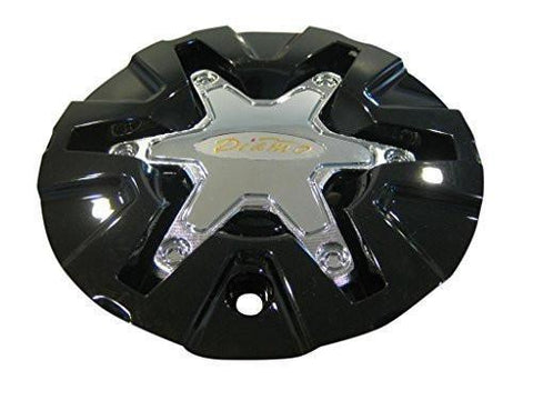 Diamo 27 Karat Gloss Black Wheel RIm Center Cap DIAMO-29 - The Center Cap Store