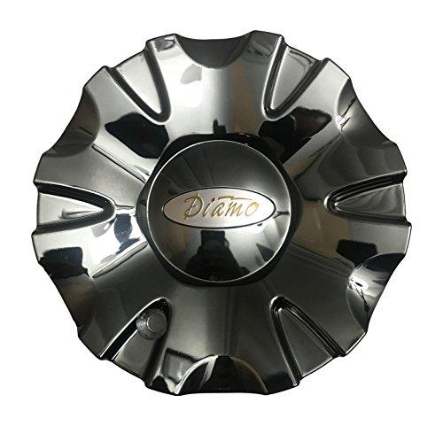Diamo Wheels CAPM469B Gloss Black Center Cap - The Center Cap Store