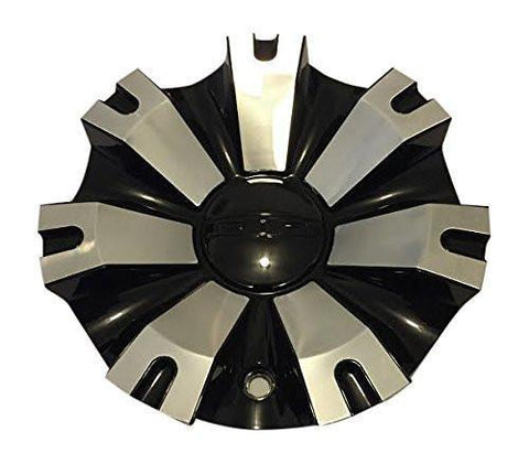 DIP D88 Gunner C10D88B MCD8286YB01 Black Wheel Center Cap - The Center Cap Store
