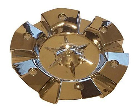 DIP D97 Flyer C10D9701 MCD8191YA01 SJ812-16 Chrome Wheel Center Cap - The Center Cap Store