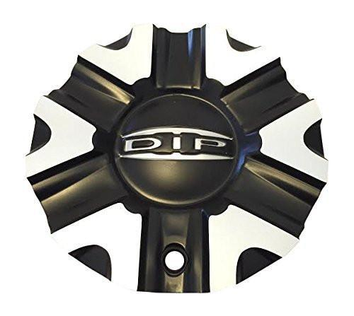 DIP D98 Hack Wheels C10D98B01 C614602CB7/M Black and Machined Center Cap - The Center Cap Store