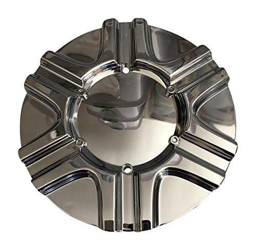 DIP Poison D61 C10D61 C-101 Chrome Wheel Center Cap - The Center Cap Store