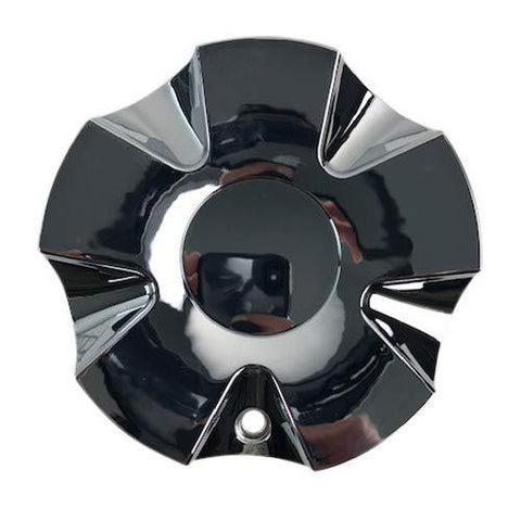 DIP WHEELS No Logo D37 Edge C10D37C-CAP LG1507-09 Chrome Wheel Center Cap - The Center Cap Store