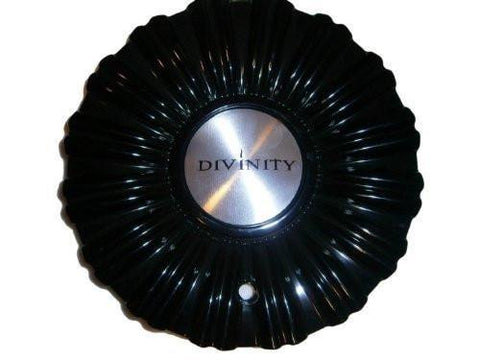 Divinity D18 Black Center Cap 108S180 - The Center Cap Store