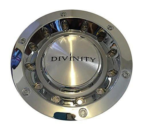 Divinity or Lucky 008S176 Chrome Wheel Center Cap - The Center Cap Store