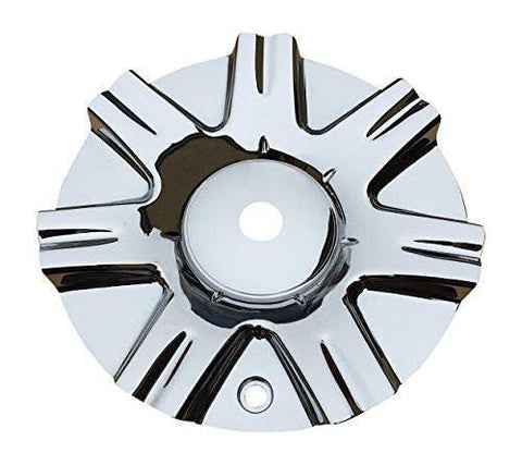 Divinity Racing D28 Chrome Wheel Rim Center Cap Centercap 010S158 - The Center Cap Store