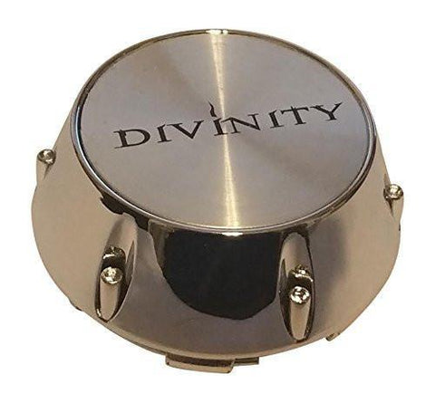 Divinity Wheels 005K68 008K68 007K68 012K68 Chrome Wheel Center Cap - The Center Cap Store