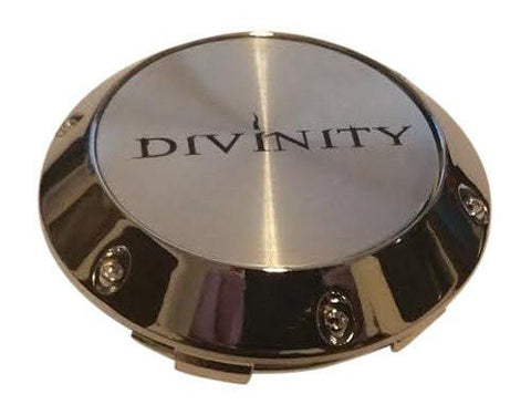 Divinity Wheels 012K68 Chrome Snap In Center Cap - The Center Cap Store
