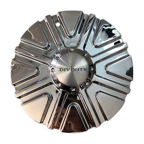 Divinity Wheels 102S210 Chrome Wheel Center Cap - The Center Cap Store
