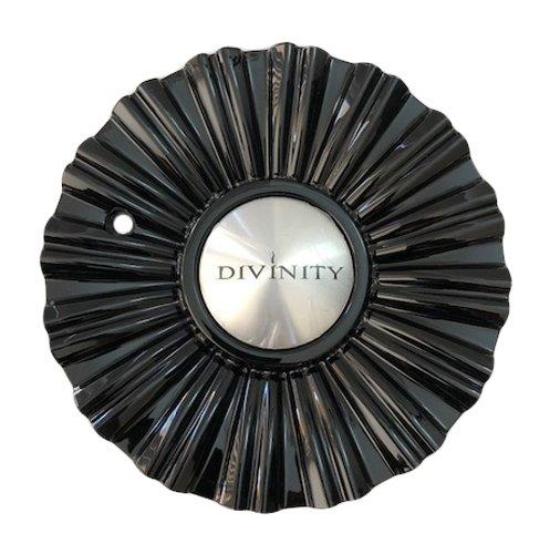 Divinity Wheels 108S180 Gloss Black Center Cap - The Center Cap Store
