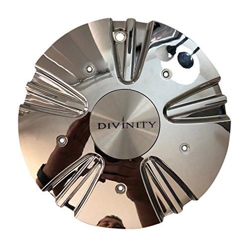 Divinity Wheels 109S215 USED Chrome Wheel Center Cap NO INSERTS - The Center Cap Store