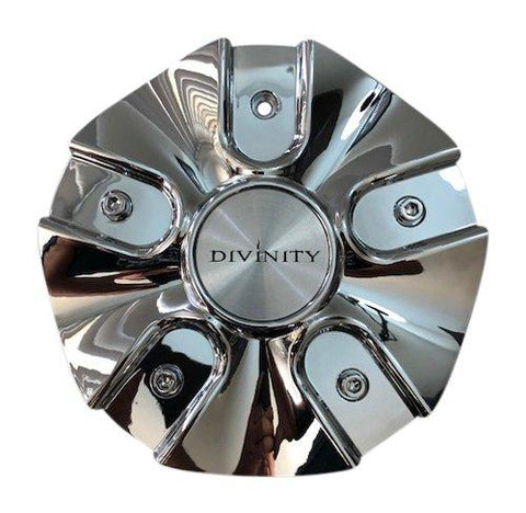 Divinity Wheels 110S185 Chrome Wheel Center Cap - The Center Cap Store