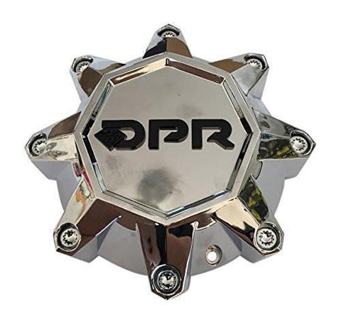 DPR Offroad Wheels CAP-DPR-C Chrome Wheel Center Cap - The Center Cap Store