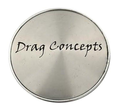 Drag Concepts C-030 Chrome Wheel Center Cap - The Center Cap Store
