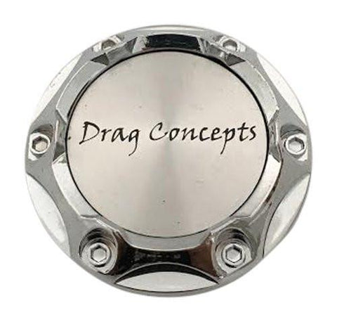 Drag Concepts HY-CAP-010 Chrome Wheel Center Cap - The Center Cap Store
