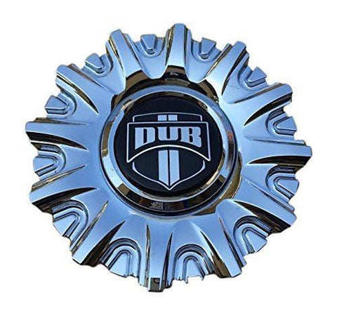 DUB Suave 10940-15 S140 Chrome Wheel Center Cap - The Center Cap Store