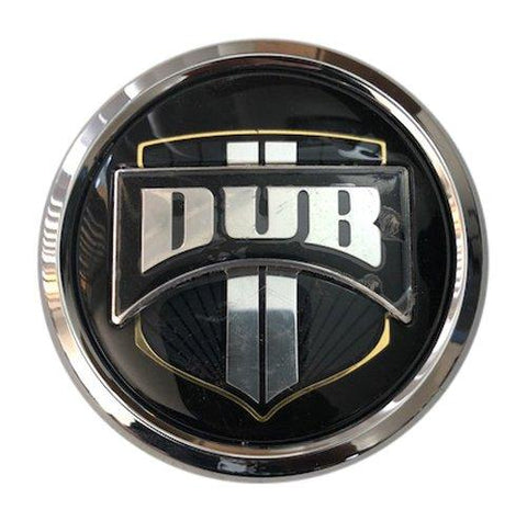 DUB Wheels 0095K80-07 USED Chrome Wheel Center Cap - The Center Cap Store
