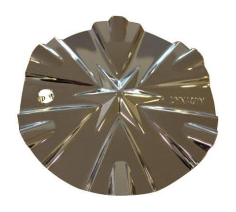 Dynasty 002 Chrome Wheel Rim Center Cap T02-CAP - The Center Cap Store