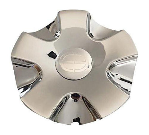 Edge Engineering BC-374 Chrome Wheel Center Cap - The Center Cap Store